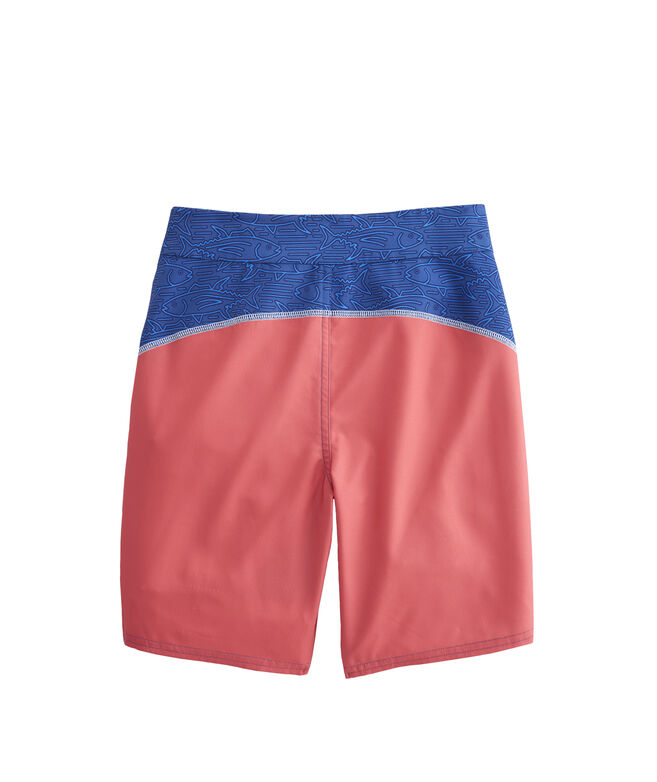 Boys Linear Tuna Pieced Board Shorts