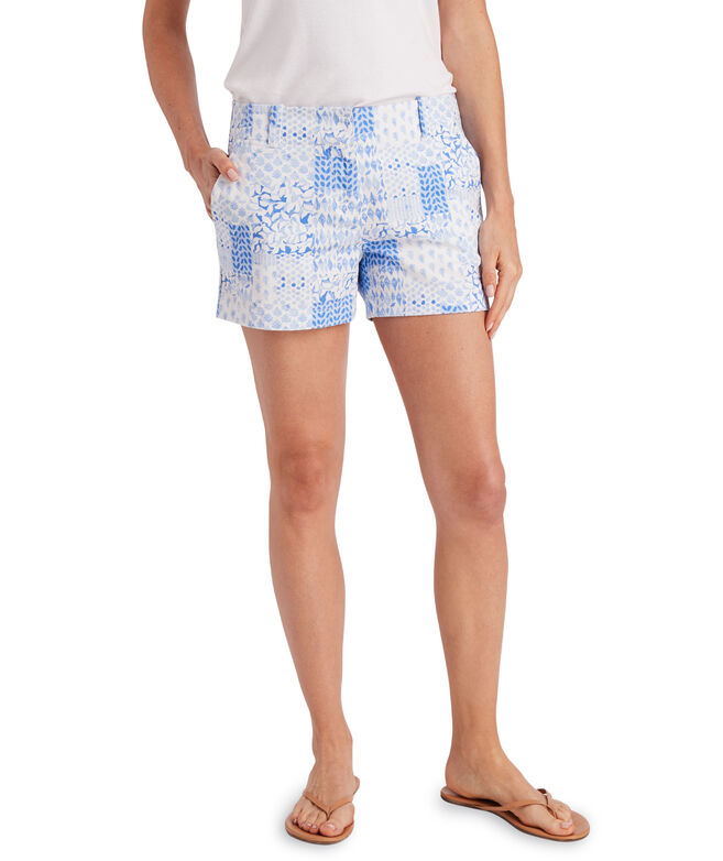 Painted Patchwork 3.5 Inch Every Day Shorts