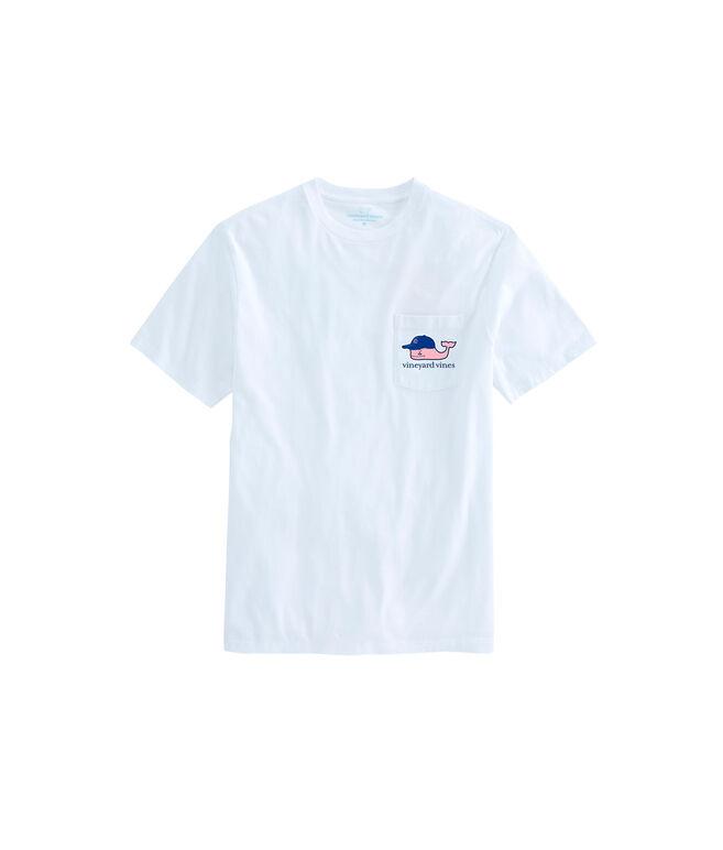 Adult Chicago Cubs Baseball Cap Pocket T-Shirt