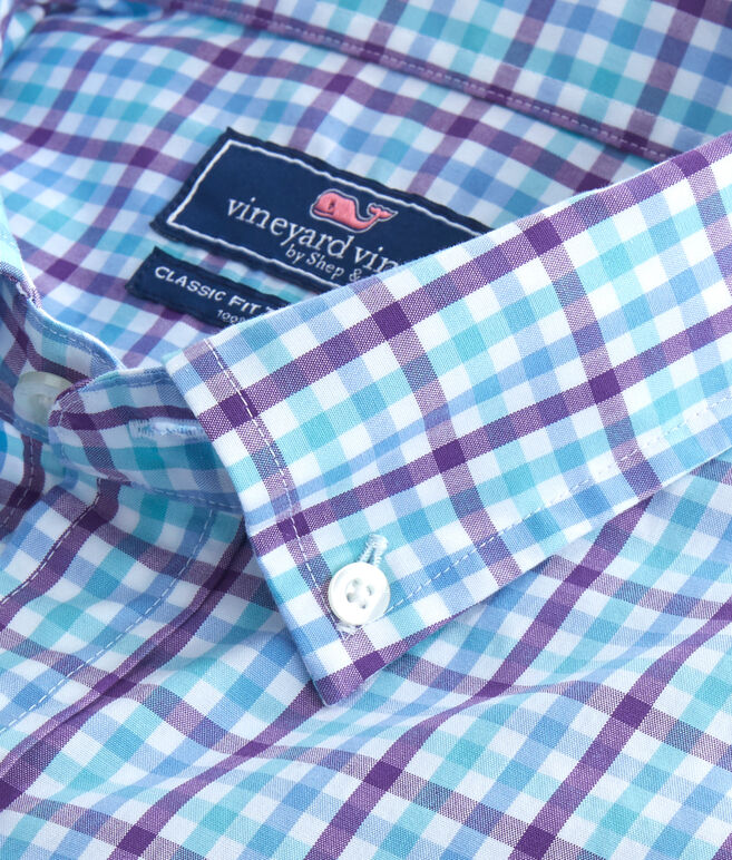 Forest Gingham Classic Tucker Shirt