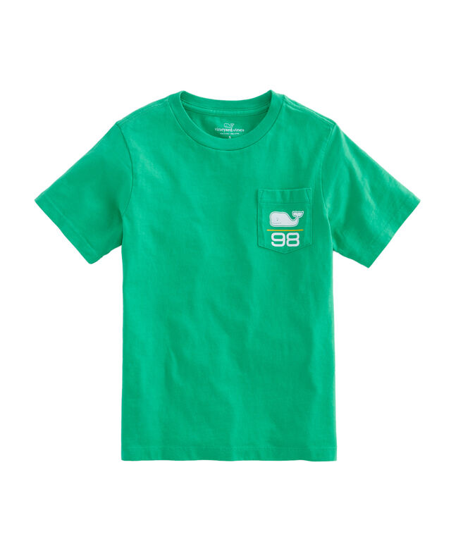 Shop boys short sleeve soccer ball t shirt at vineyard vines for Boys soccer t shirts
