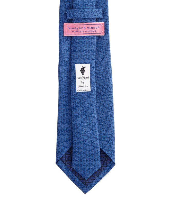 Extra Long Tonal Whale Tie