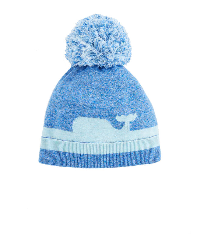 Girls Whale Knit Hat