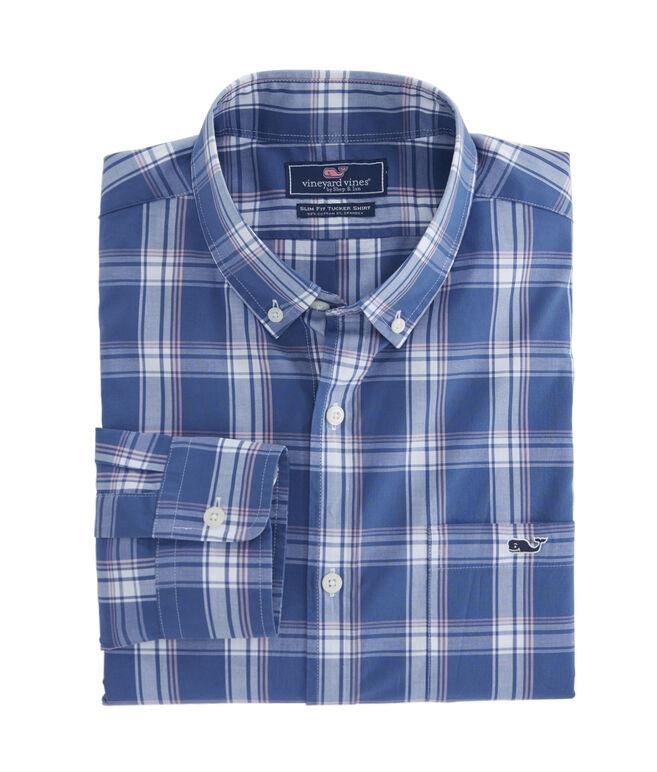 Ash Creek Plaid Slim Tucker Shirt