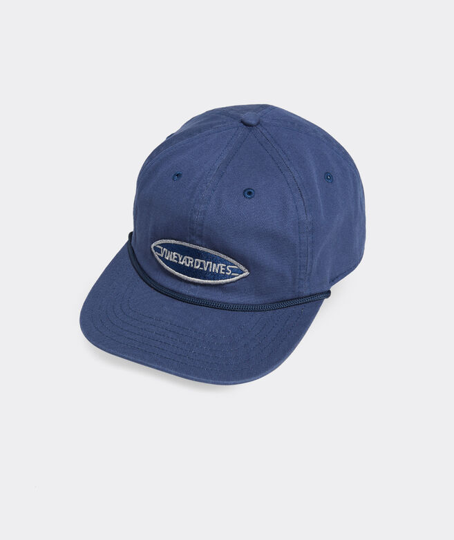 Surf Logo Flat Brim Baseball Hat