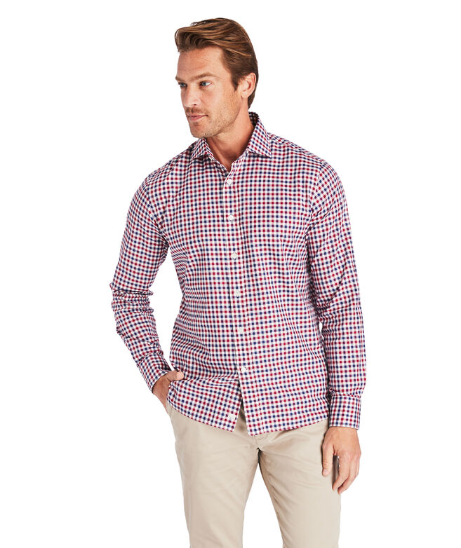 Classic Fit Italian Twill Greenwich Dress Shirt