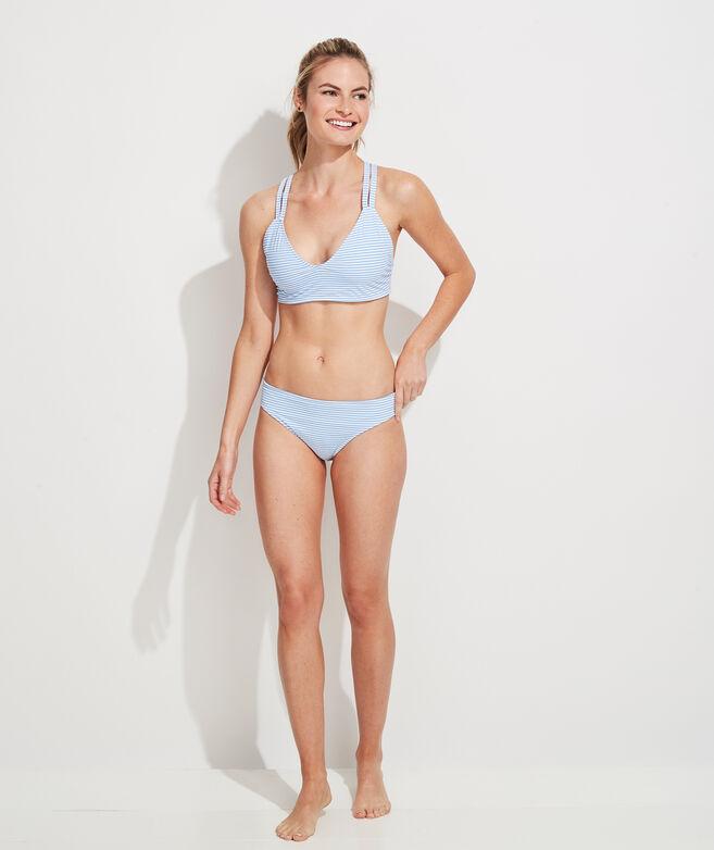 Bahamas Scene Reversible Bikini Top