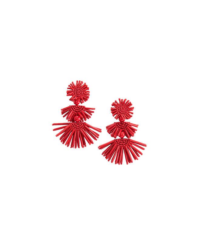 Firework Fan Drop Earrings