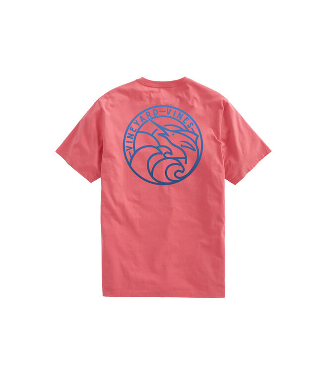 Marlin Crest Short-Sleeve Pocket Tee