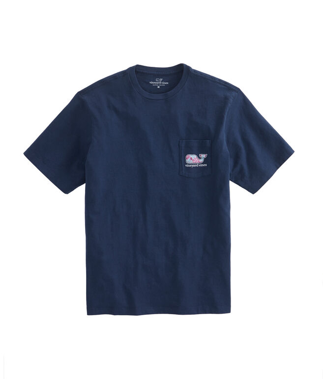 Marlin & Coral Whale Fill Pocket T-Shirt