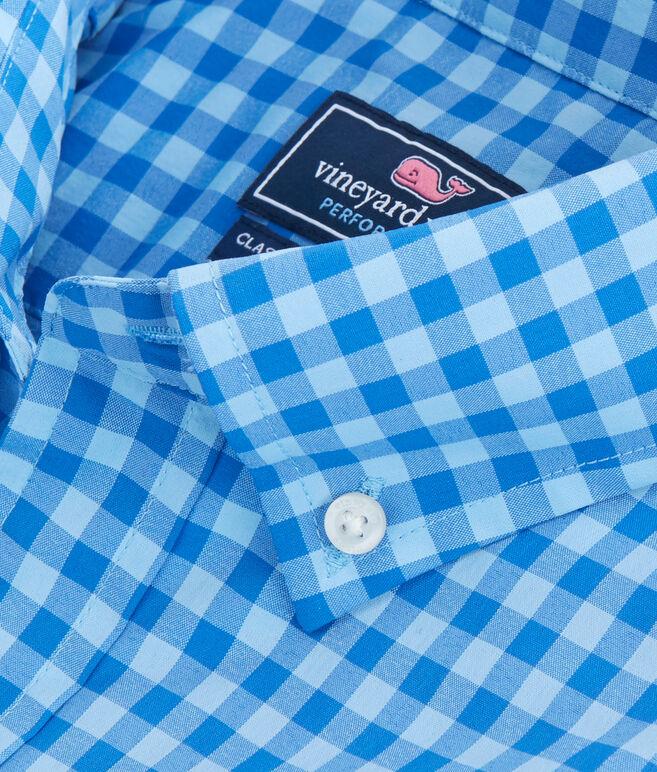 Short-Sleeve Cherokee Sound Plaid Classic Tucker Shirt