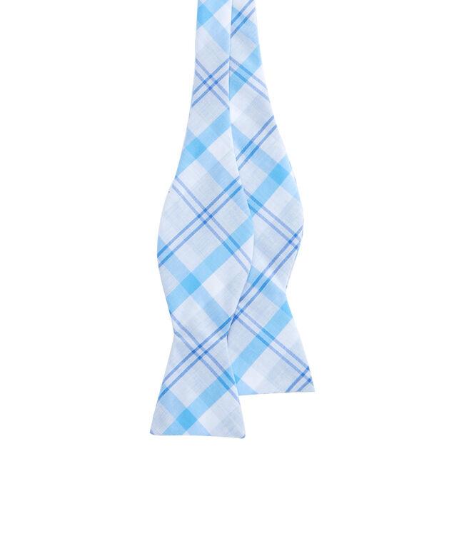 Stony Bay Plaid Woven Bow Tie