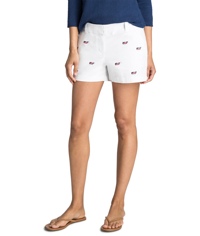 3 1/2 Inch Flag Whale Every Day Shorts