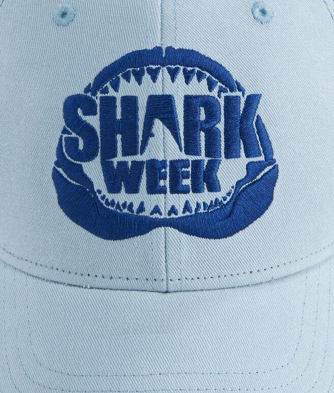 Mens Shark Week Logo Trucker Hat