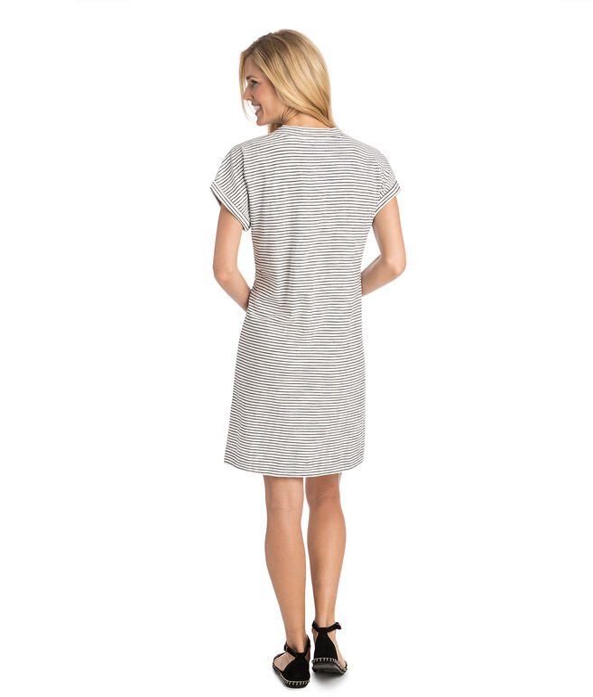 V-Neck Tee Dress