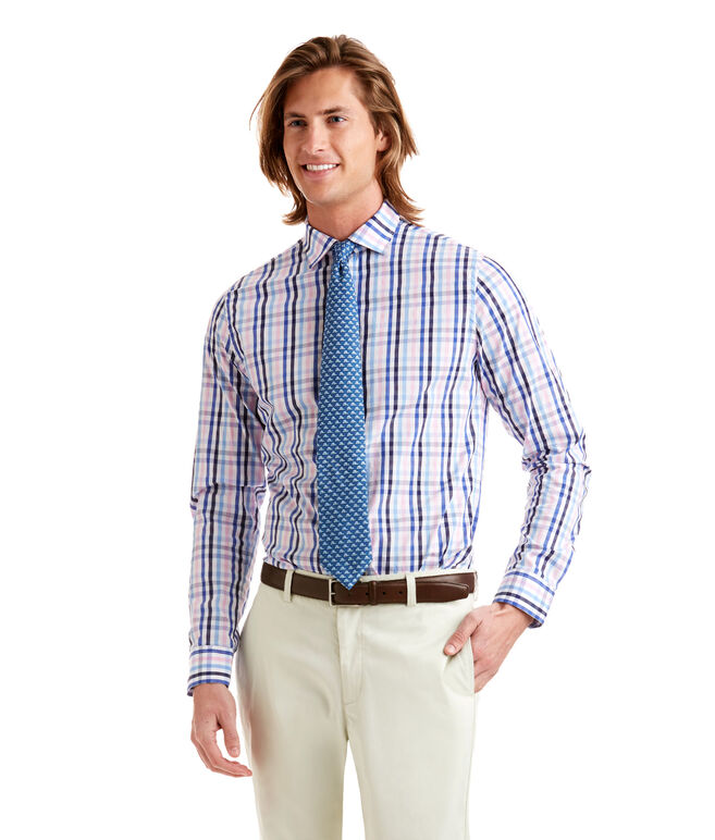 Fort Louis Check Performance Cooper Shirt