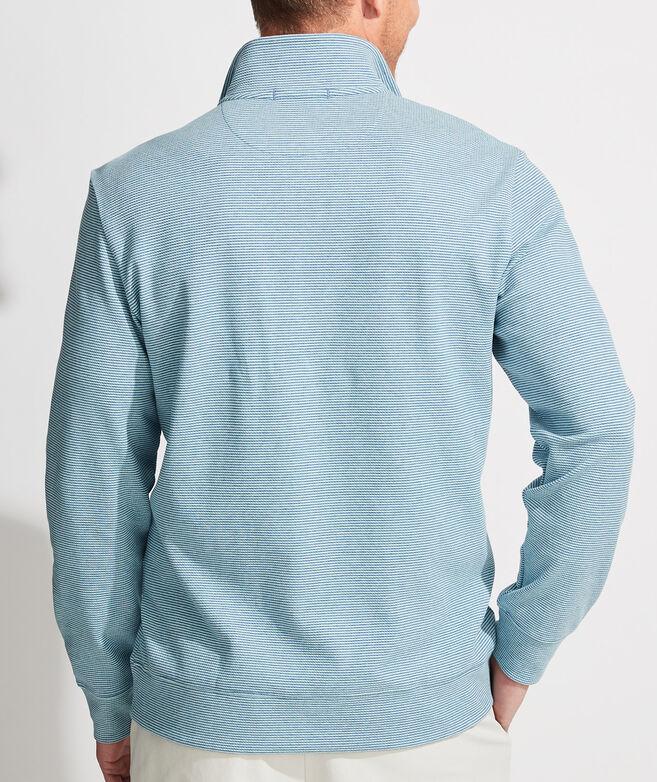 Coopers Town Stripe Saltwater 1/2-Zip Pullover