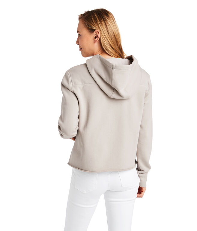 Over-Dyed Beach Hoodie Shep Shirt