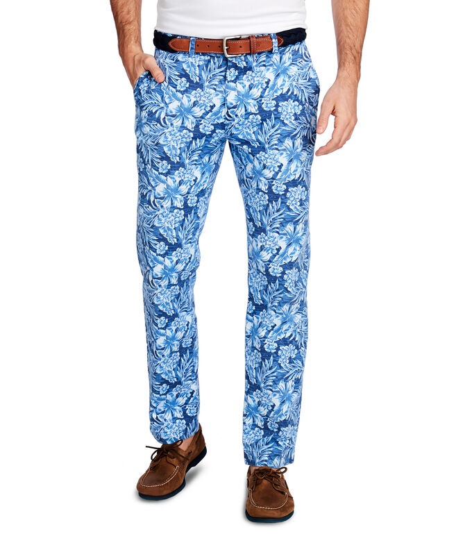 Floral Printed Breaker Pants