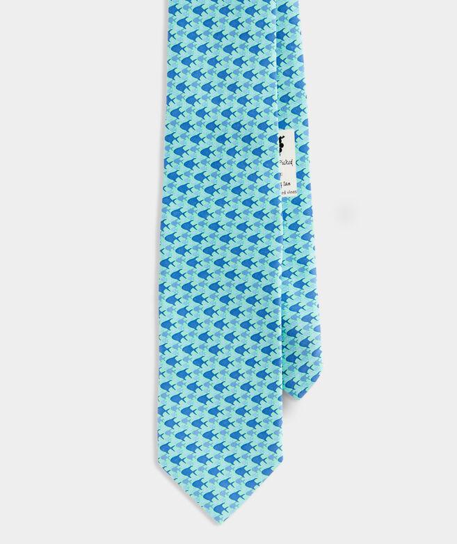 School of Permit Printed Tie