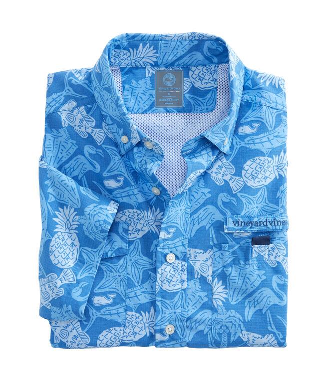 Short-Sleeve Island Icon Harbor Shirt