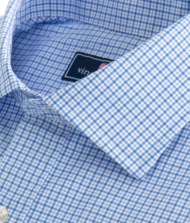 Plaid Classic Fit Burgee Shirt