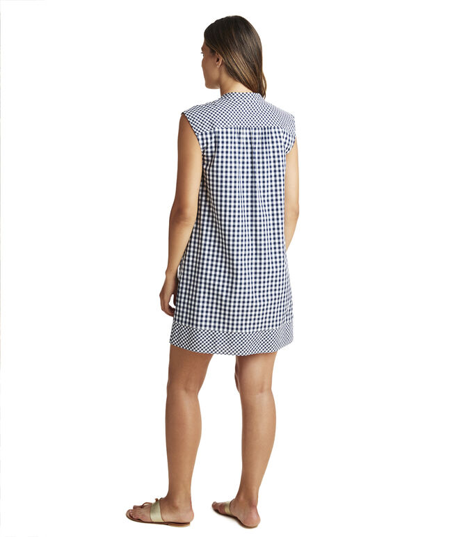 Gingham Mix Vineyard Tunic Dress