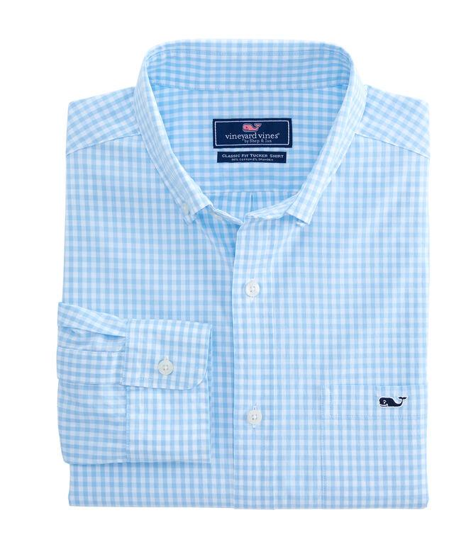 Classic Fit Arawak Gingham Tucker Shirt