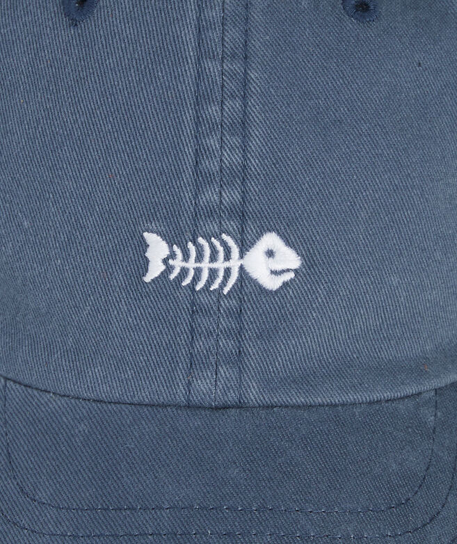 Boys' Bonefish Embriodered Baseball Hat