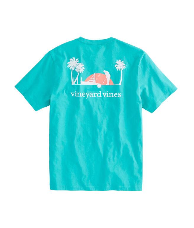 Tropical Putt Pocket T-Shirt