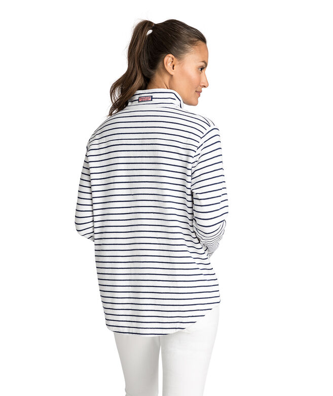 USA Mixed Stripe Relaxed Shep Shirt