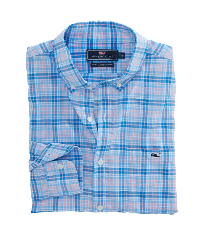 Stoney Hill Plaid Slim Tucker Shirt