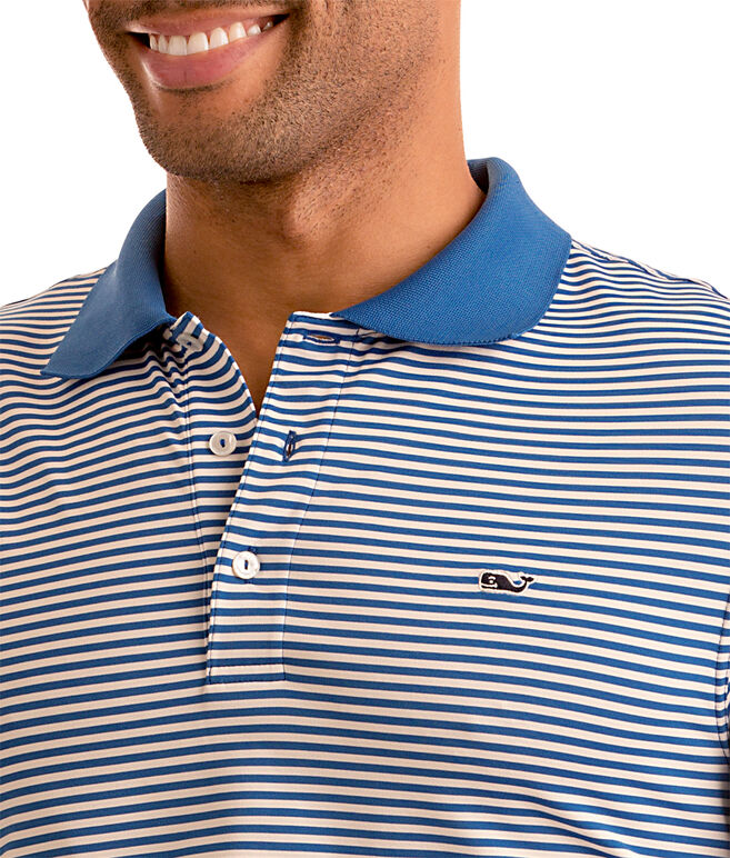 Porter Stripe Sankaty Performance Polo