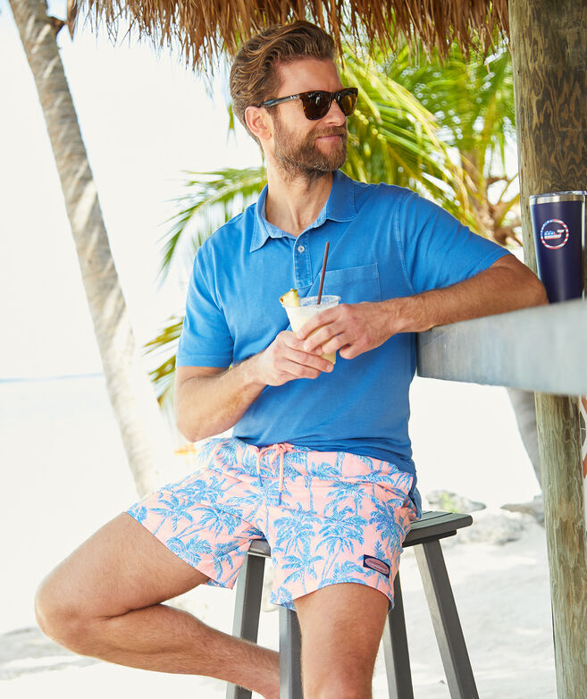 Garment-Dyed Island Polo