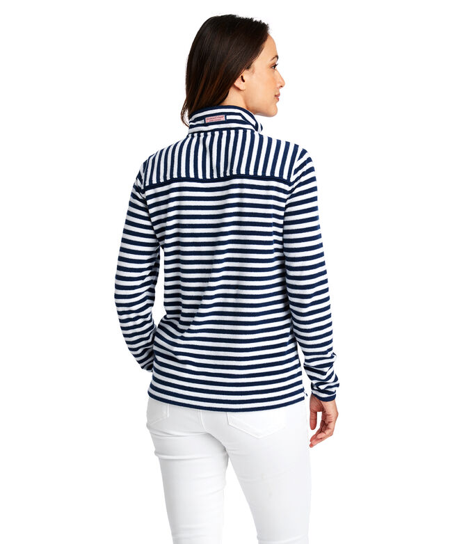 Striped Terry Towel Relaxed Shep Shirt