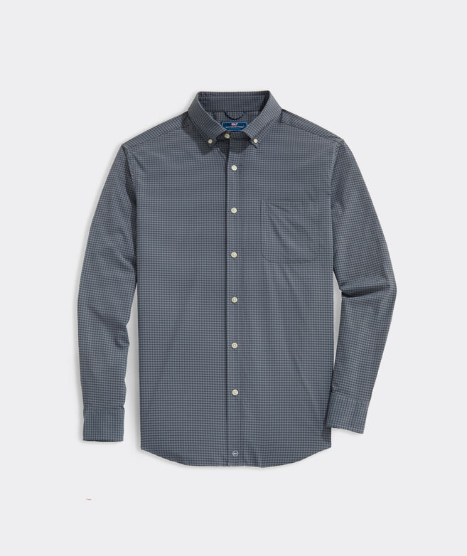 Big & Tall Classic Fit On-The-Go Shirt in Performance Nylon