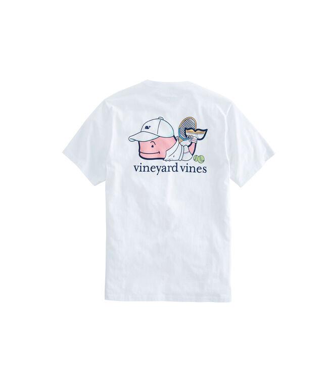Tennis Pro Whale Pocket T-Shirt