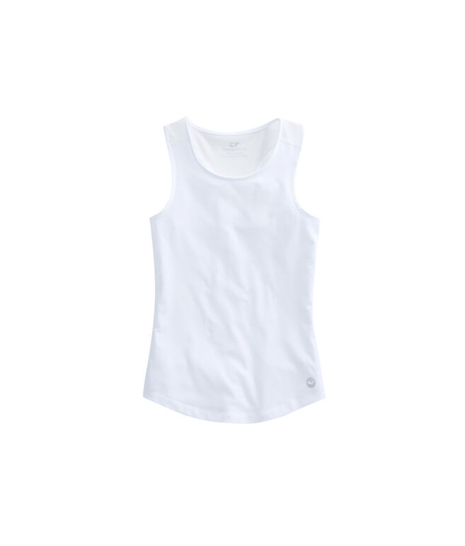 Girls Solid Performance Tank