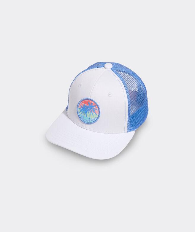 Girls' Palm Patch Trucker Hat