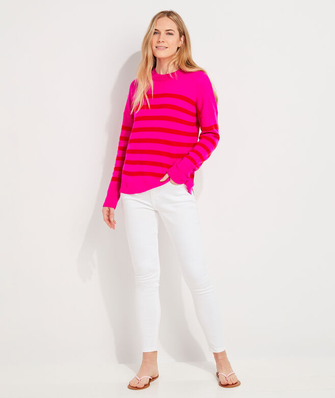 Seaspun Lightweight Cashmere Stripe Sweater