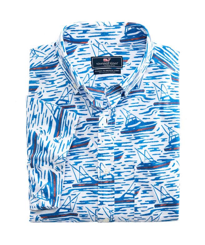 Classic Short-Sleeve Sportfisher Murray Shirt