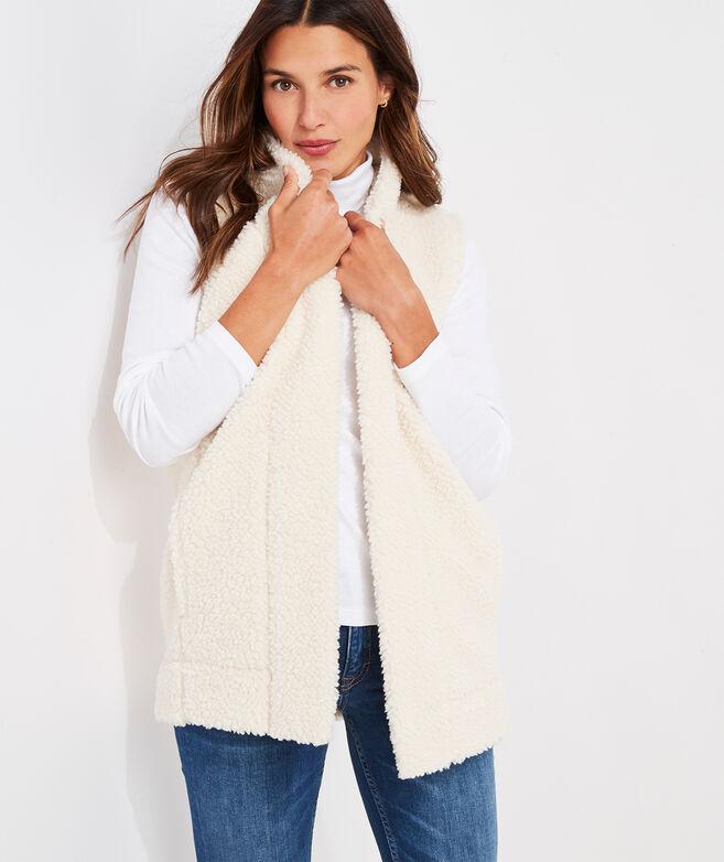 Sherpa Open-Front Vest