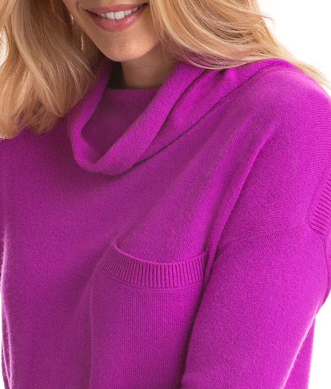 Roll Neck Pocket Sweater