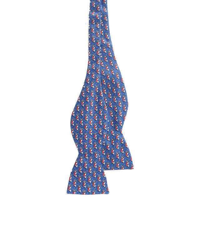 Texas Flag Whale Bow Tie
