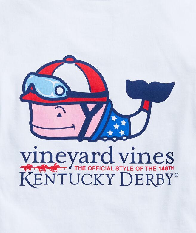 Boys' Kentucky Derby Jockey Whale Short-Sleeve Pocket Tee