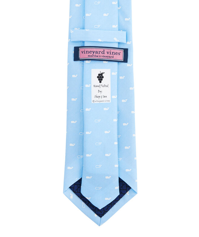 Spread Out Whale Printed Tie