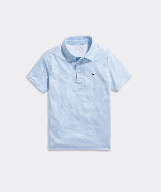 Boys Printed Sankaty Polo