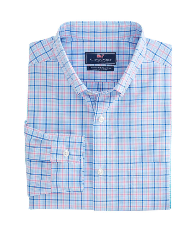 Sir Christie Check Classic Stretch Murray Shirt