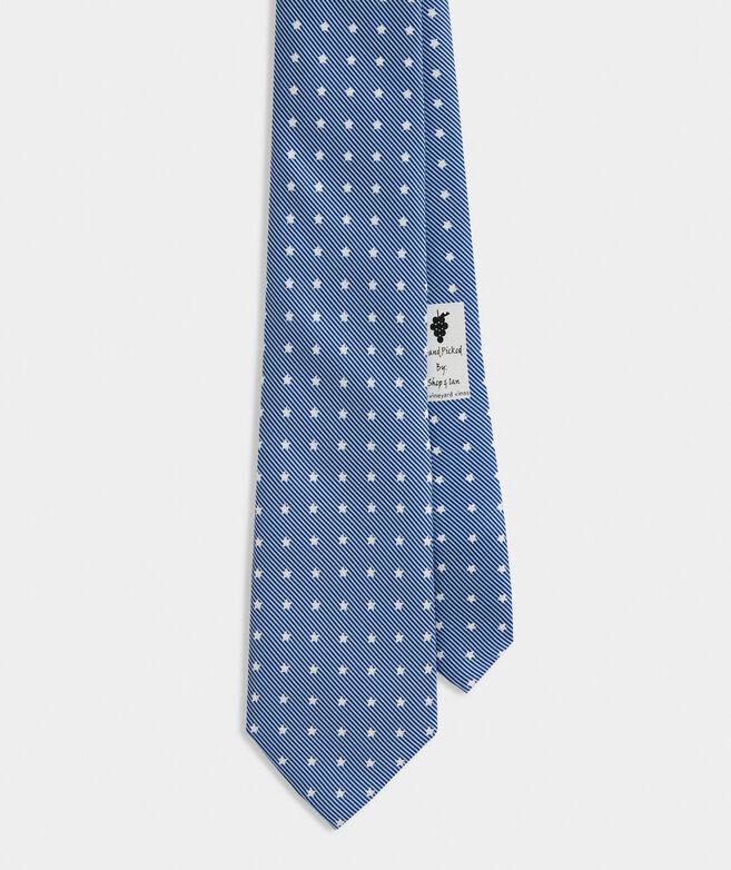Stars & Stripes Printed Tie