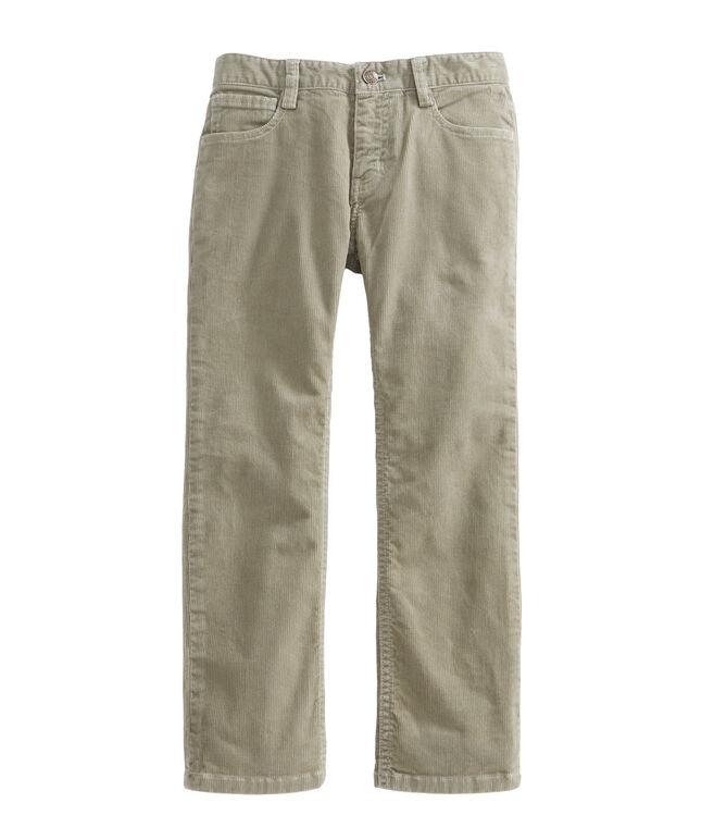 Boys 5 Pocket Corduroys